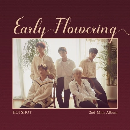 [PRE ORDER] HOTSHOT 2ND MINI ALBUM - EARLY FLOWERING