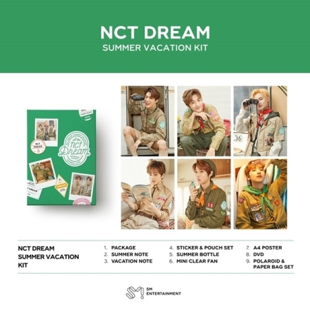 [PRE ORDER] NCT DREAM - SUMMER VACATION KIT