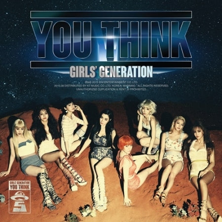 [PRE ORDER] SNSD 5th ALBUM - YOU THINK