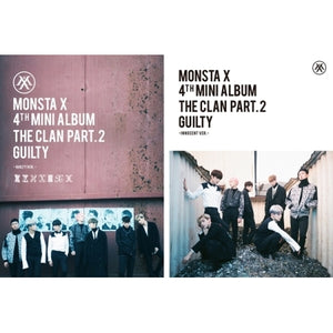 "[PRE ORDER] MONSTA X - 4th Mini Album ""THE CLAN 2.5 PART.2 GUILTY"""