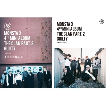 [PRE ORDER] MONSTA X - 4th Mini Album