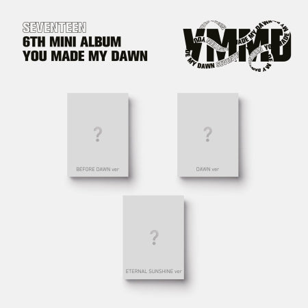 [PRE ORDER] SEVENTEEN 6TH MINI ALBUM - YOU MADE MY DAWN <KIHNO Ver.>