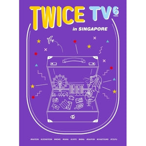 [PRE ORDER] TWICE - TWICE TV6 : TWICE IN SINGAPORE (3 DISC)