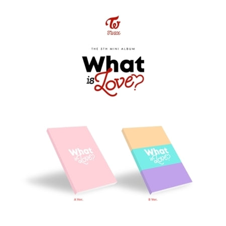 [PRE ORDER] TWICE 5TH MINI ALBUM - WHAT IS LOVE