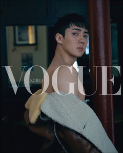 [PRE ORDER] VOGUE KOREA MAGAZINE AUGUST ISSUE (COVER: EXO SEHUN)