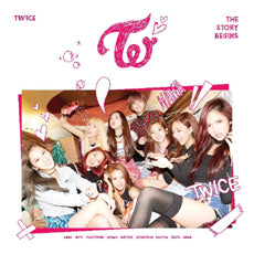 "[PRE ORDER]  TWICE - 1st Mini Album ""THE STORY BEGINS"""