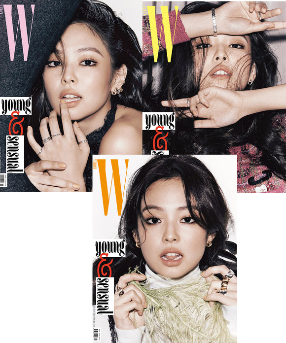 [PRE ORDER] W KOREA MAGAZINE NOVEMBER ISSUE (Feat. BLACKPINK JENNIE & EXO KAI)