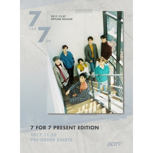 [PRE ORDER] GOT7 - 7 FOR 7 PRESENT EDITION