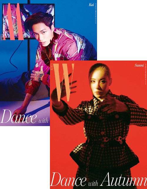 [PRE ORDER] W KOREA SEPTEMBER ISSUE (FEAT. EXO KAI, SUNMI)