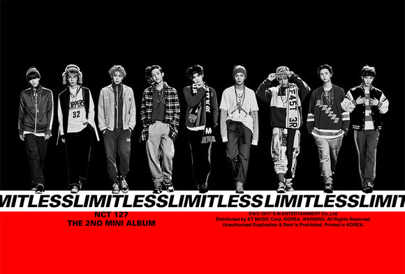 [PRE ORDER] NCT#127 2nd MINI ALBUM - LIMITLESS