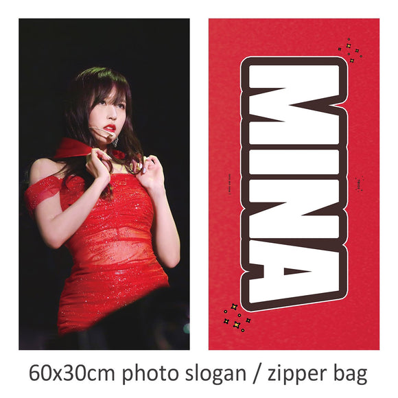 [PO CLOSED] Mina Red Slogan by @lovemenow_324