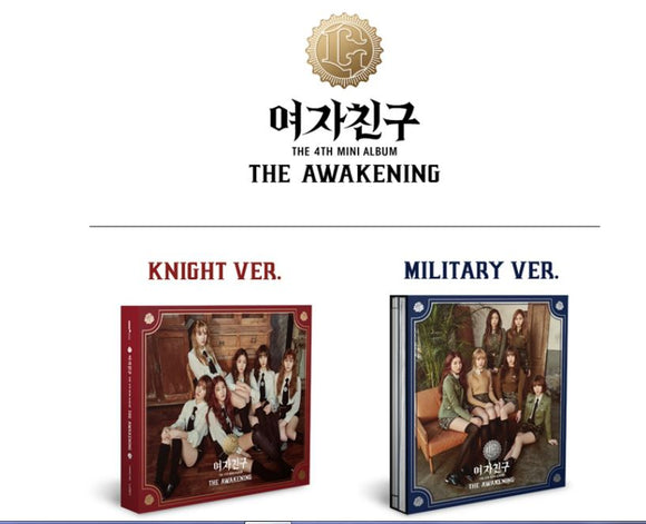 [PRE ORDER] GFRIEND 4th MINI ALBUM - THE AWAKENING
