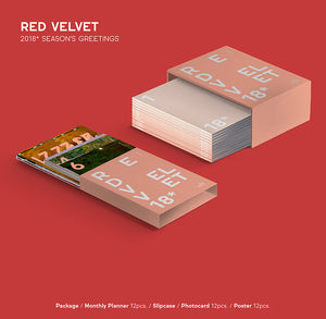 RED VELVET 2018 SEASON GREETING (With Special Gift: Mini Banner)