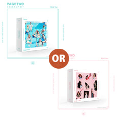 "[PRE ORDER]  TWICE - 2nd Mini Album ""PAGE TWO"""
