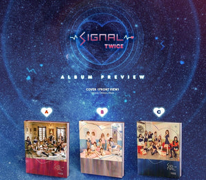 "[PRE ORDER]  TWICE - 4th Mini Album ""SIGNAL"""