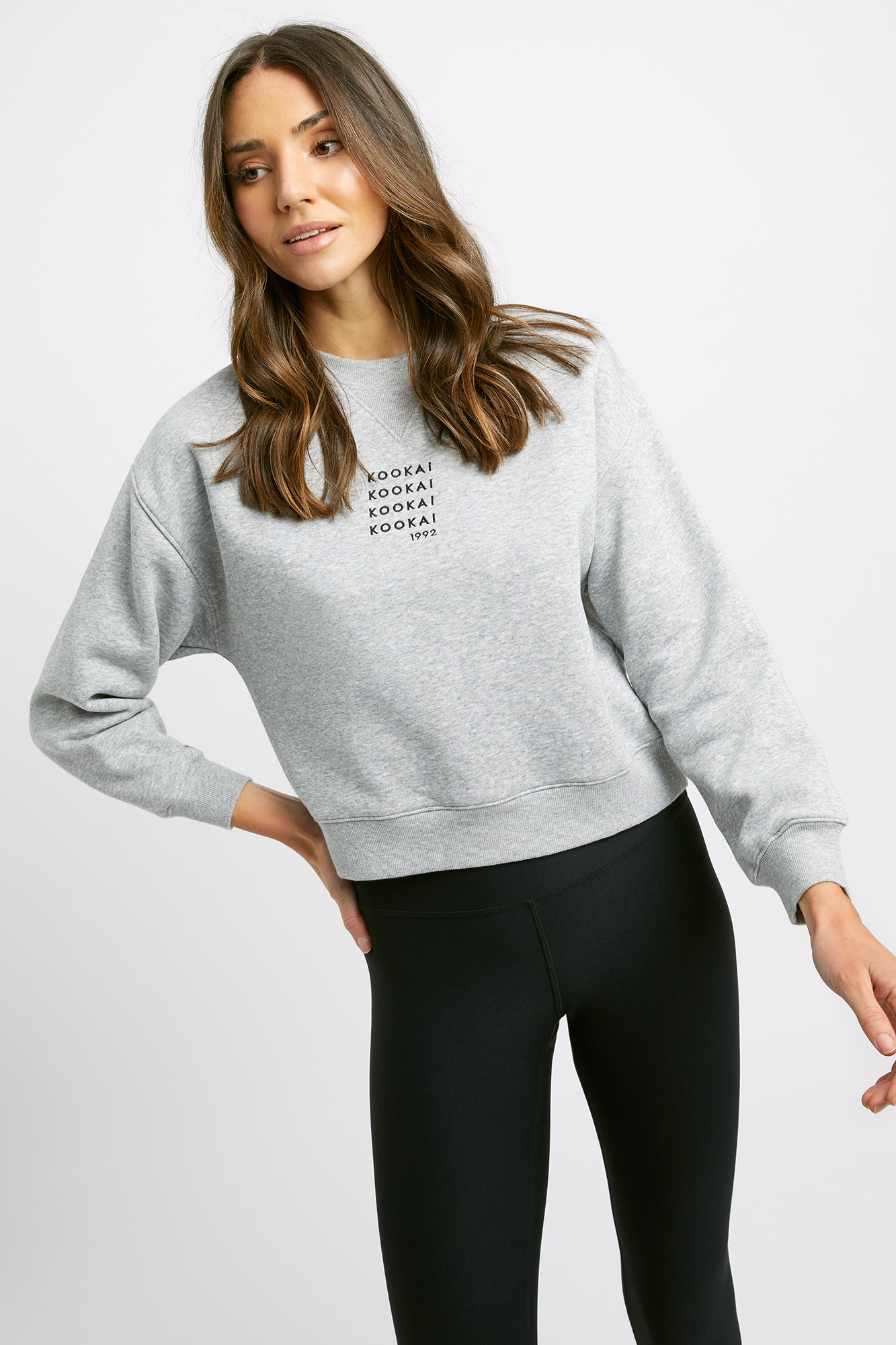 Brushed Emblem Jumper