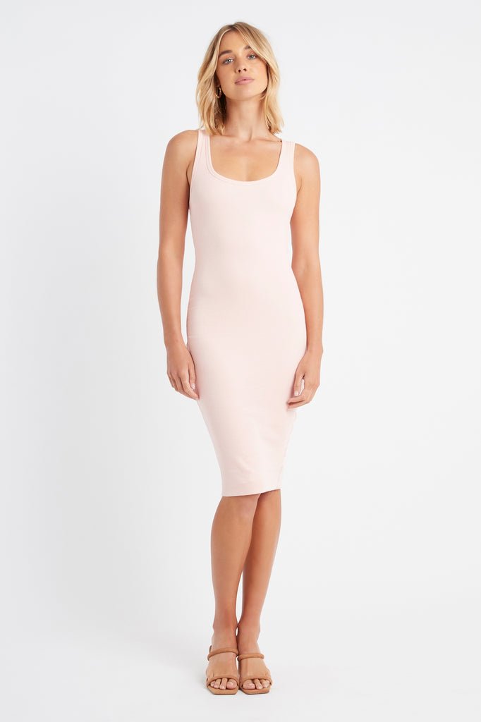 Bonnie Scoop Midi Dress