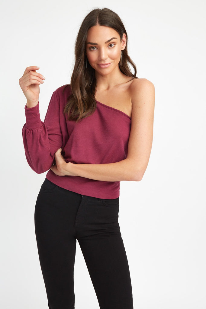 Silvy One Shoulder Top