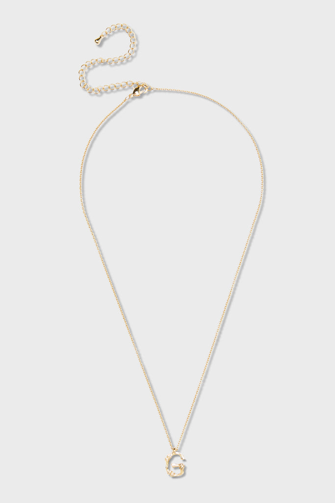 G - Initial Necklace
