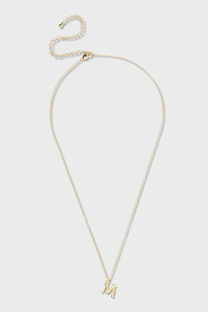 M - Initial Necklace