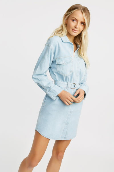 Nevada Denim Dress