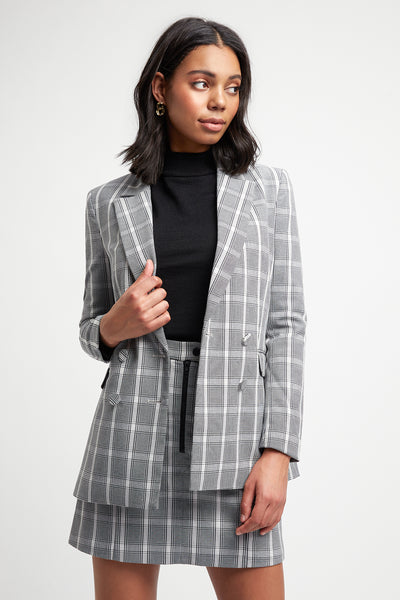 Boston Check Blazer