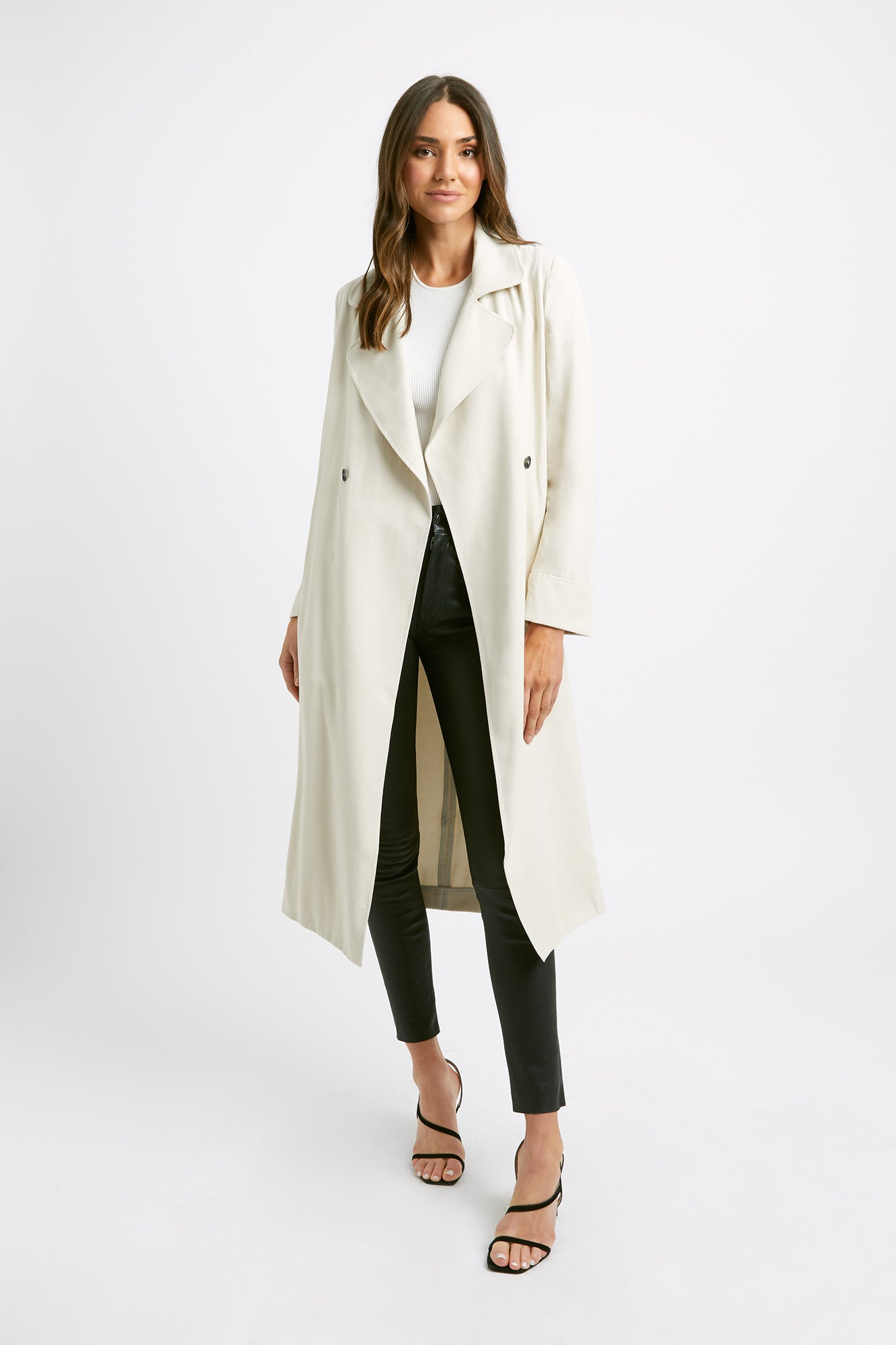 Montmartre Waisted Trench