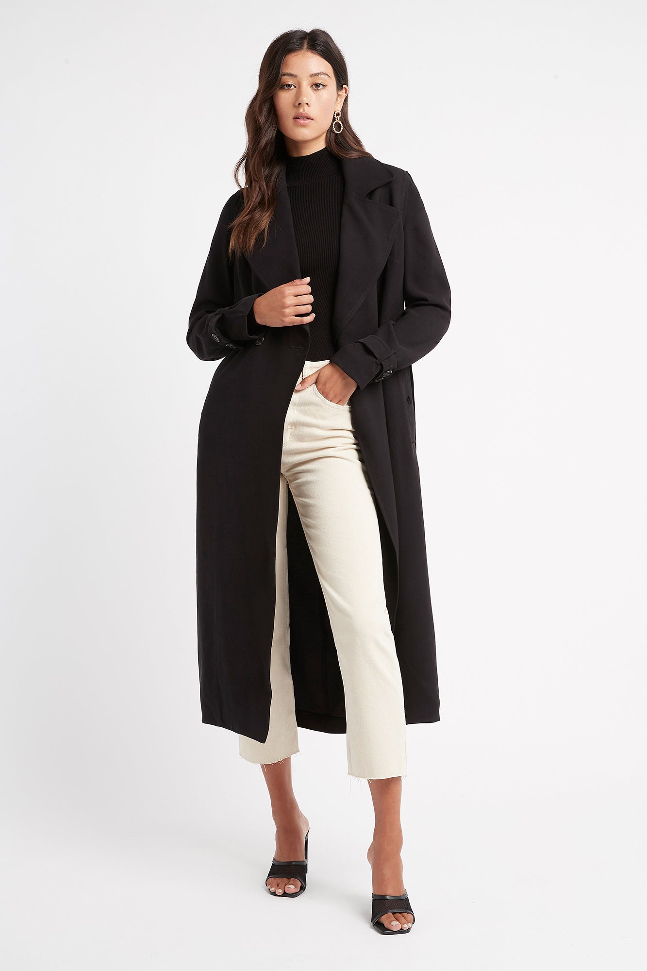 Montmartre Tied Trench