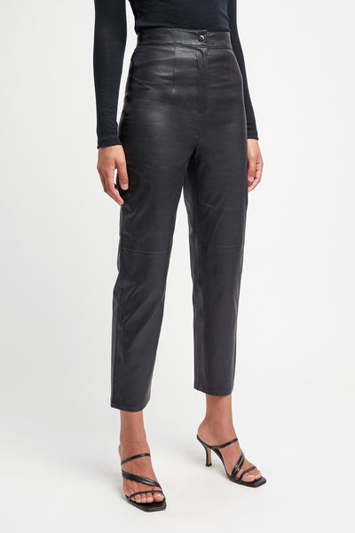 Clemence Leather Trouser