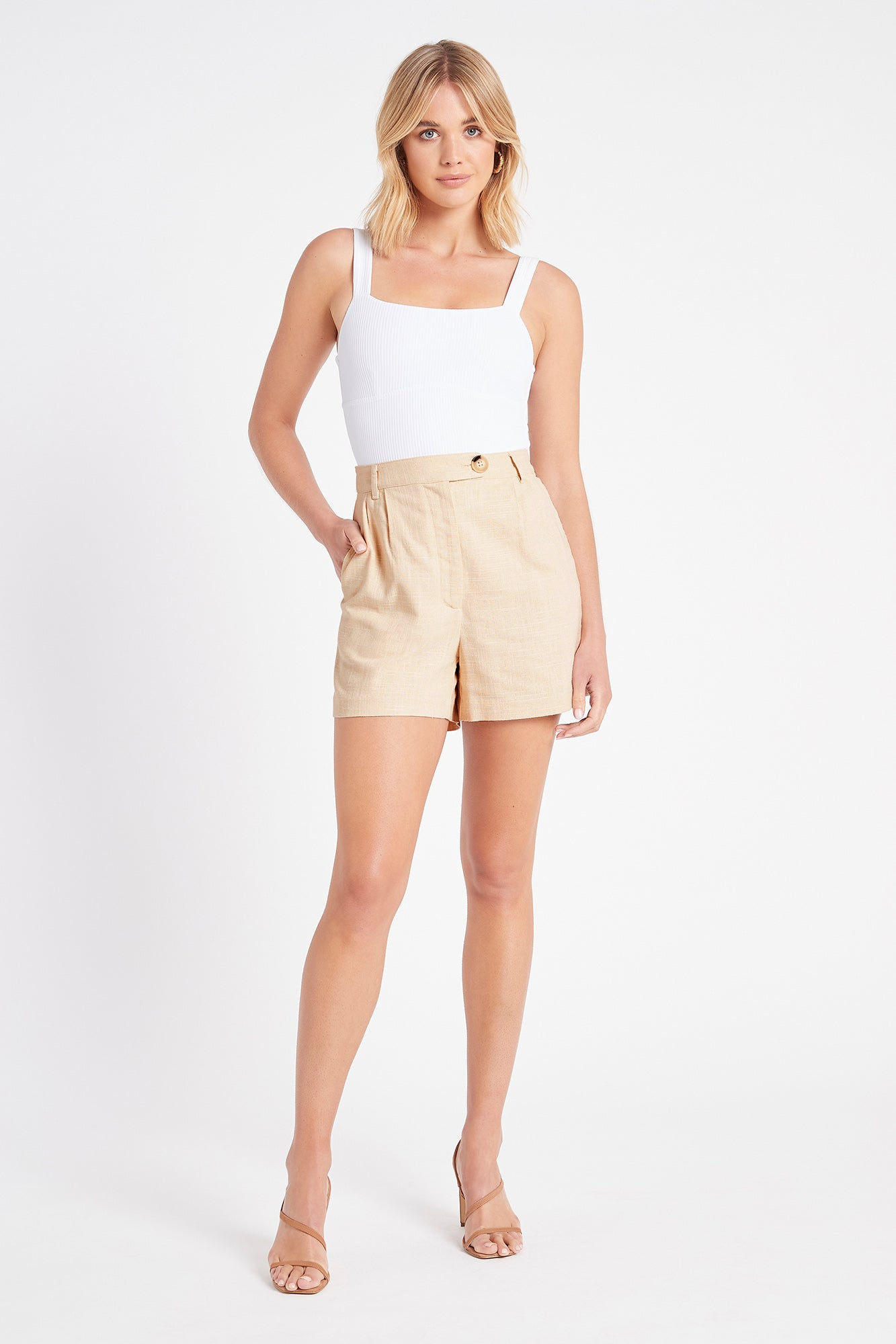 Kiki Button Shorts