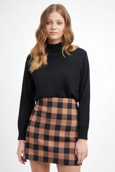 Tribeca Check Mini Skirt