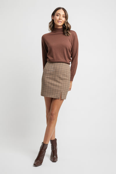 Chelsea Check Mini Skirt