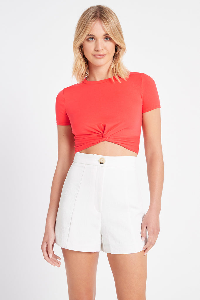 Liv Cropped Tee