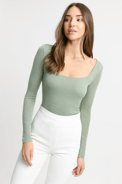Bonnie Square Neck Top