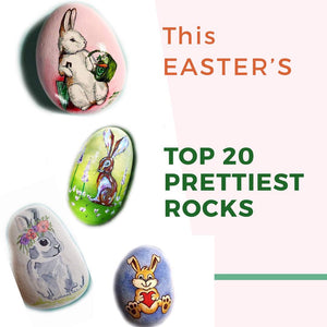 WEDNESDAY SNAPSHOT - TOP 20 prettiest rocks for this EASTER