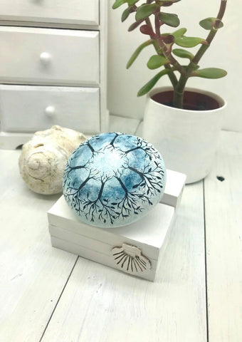 mandala trees river painted rock Christine Onward blog Austral Old Bar housewarming home decoration creative spiritual