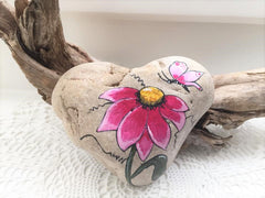painted rocks flowers happy home decorations