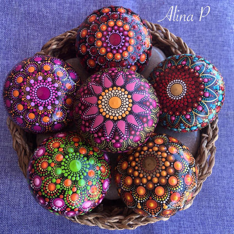 mandala collection art deco home decor Alina Prodan blog Christine Onward Australia