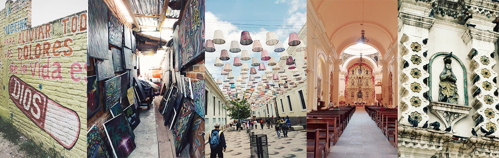 Tegucigalpa honduras cathedrals city street art photo Misty Day