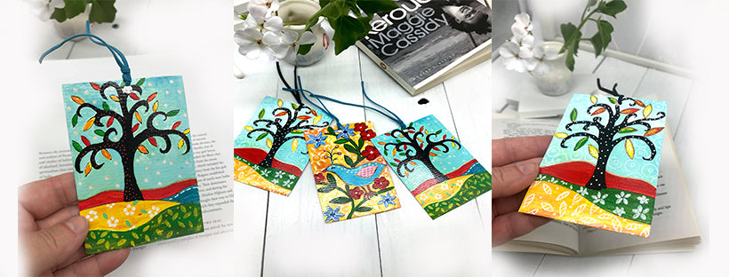ORIGINAL ART BOOKMARKS