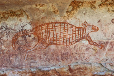 aboriginal rock art painting Pilbara South Australia Christine Onward blog