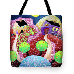 tote bag christine onward sale night painting surreal story lessons blog