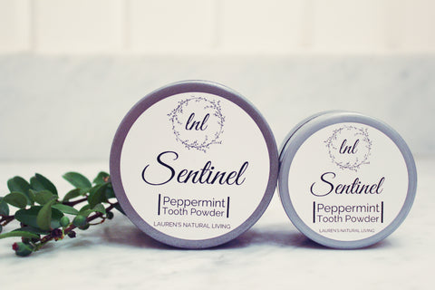 Sentinel Peppermint Tooth Powder