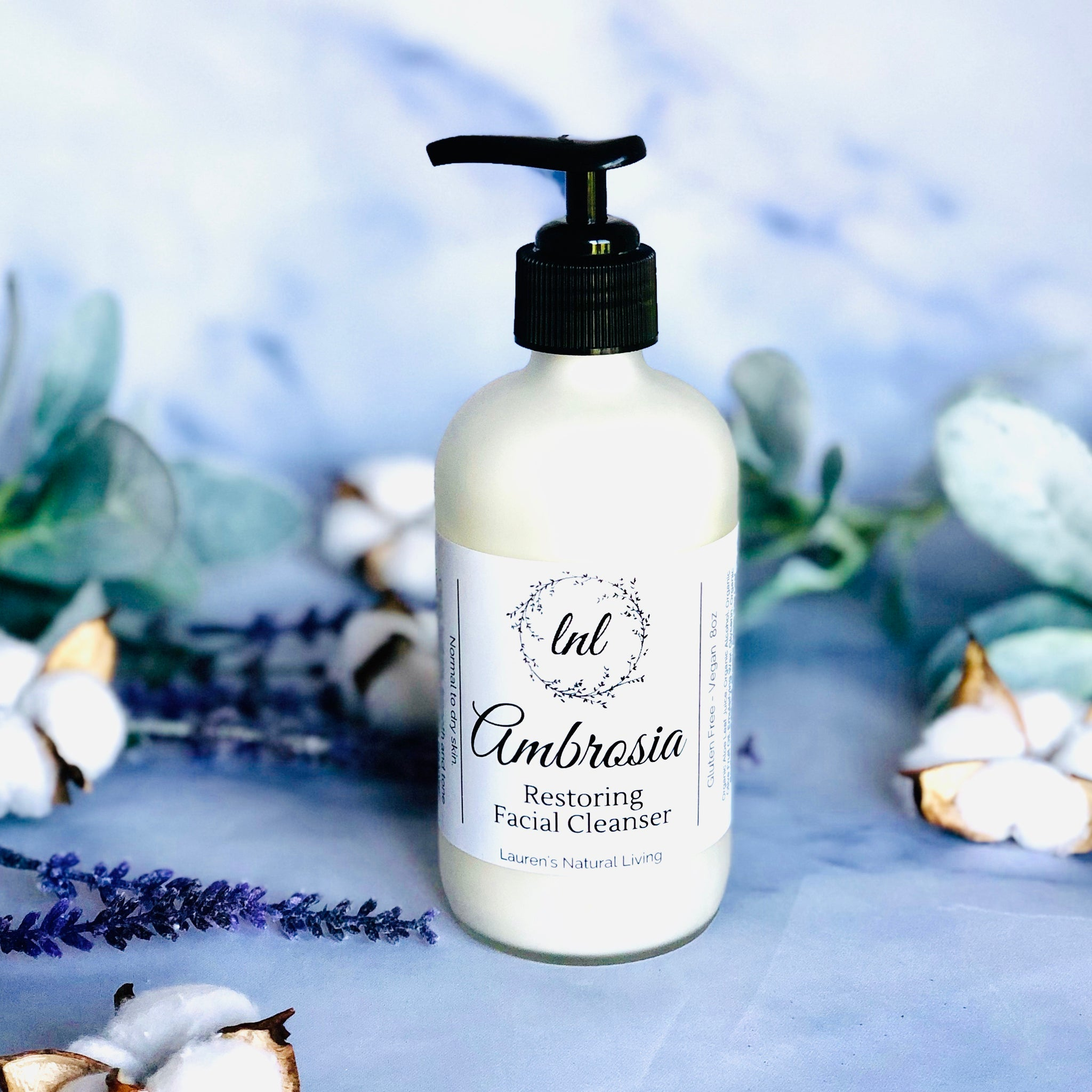 Ambrosia Restoring Facial Cleanser