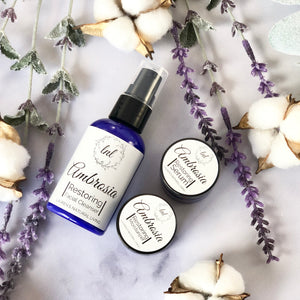 Mini Ambrosia Travel Skin Set