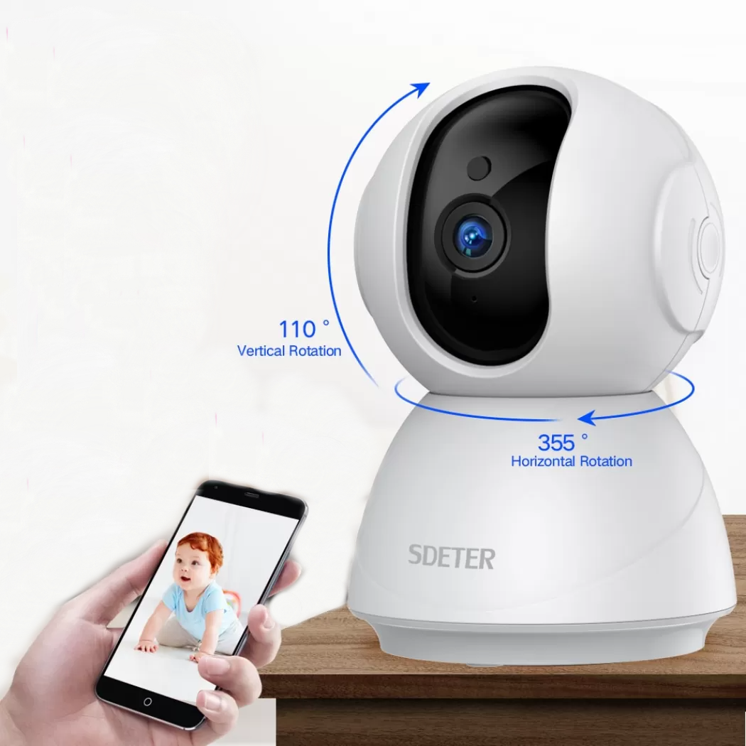 1080P 720P Rotating WiFi Wireless Camera Surveillance P2P