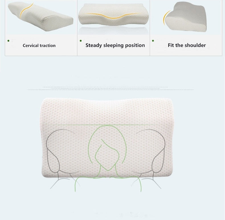 Orthopedic Pillow With Memory Foam