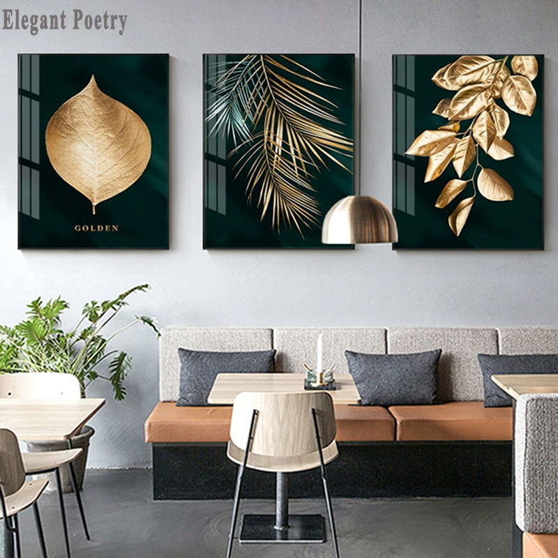 Golden Plant Decorative Canva