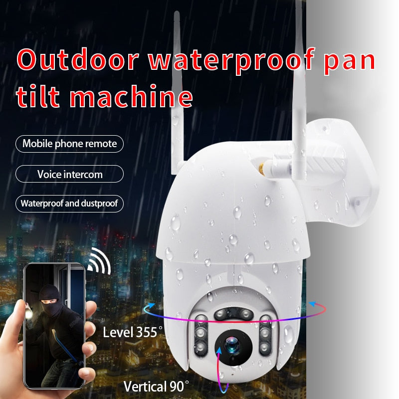 Outdoor PTZ Wireless  CCTV Adaptable IP Wifi Camera