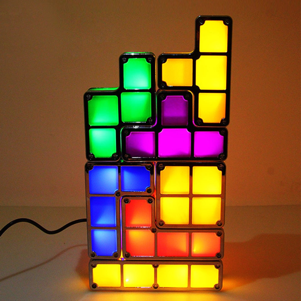 The Tetris Puzzle Night Light